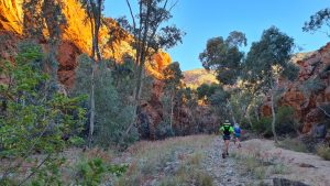 Approach to Hugh Gorge