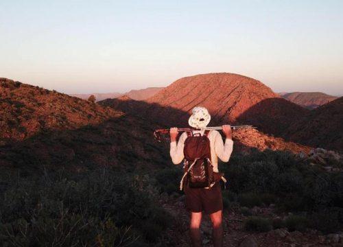 On top of Razorback Ridge 700 580